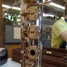 Powell platinum flute with 10K gold keys. Photo by Powell Flutes.