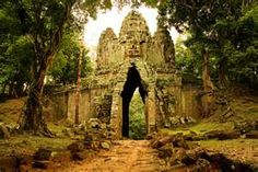 #ridecolorfully Angkor gate