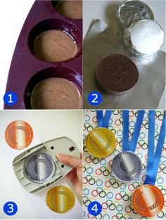 chocolate medals - tutorial