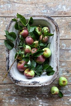 little apples from the orchard