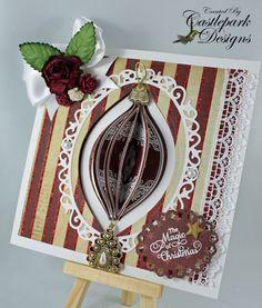 Spellbinders 2012 Heirloom Ornaments and Spellbinders Floral Ovals