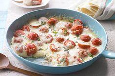 Tomato-Basil Queso Fundido recipe