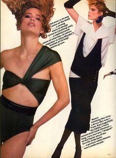 Vogue December 1982, Kelly Emberg