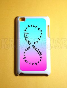 Ipod Touch 4 Case - Hakuna matata infinity Ipod 4G Touch Case, 4th Gen Ipod Touch Cases via Etsy