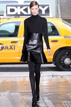 Fall/ Winter 2012-2013 Fashion Trend #5: Leather Skirts