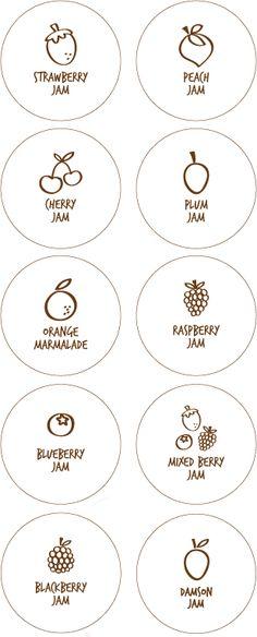 Free Jam Labels