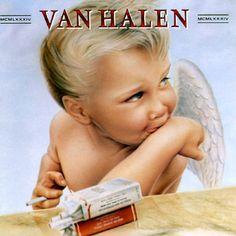 album covers, music, 80s, vanhalen, memori, vans, 1984, rock, van halen