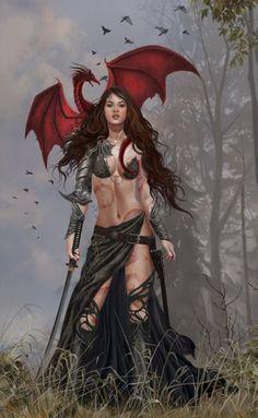 warrior, nene thoma, dragon witch, artists, magic, pet, fairi, ray ban sunglasses, calendar