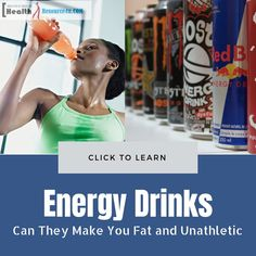 Energy Drinks : Can