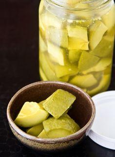 Pickled Avocados Recipe — La Fuji Mama