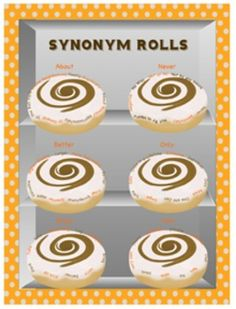 FREE Synonym Rolls Resource - Great preview for my synonym rolls go fishing activity
