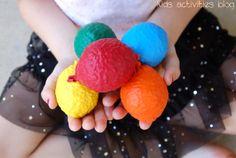 Juggling Three Balls: Make Your Own {Filled Balloon} Juggling Balls