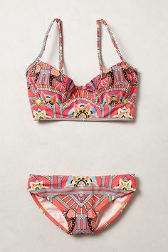 hoffman ananda, style, swimsuit, mara hoffman, bikinis, anthropologie, summer, closet, beach