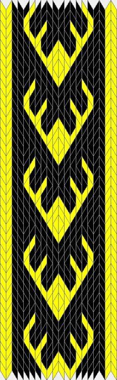 Antlers Tablet Weaving Pattern