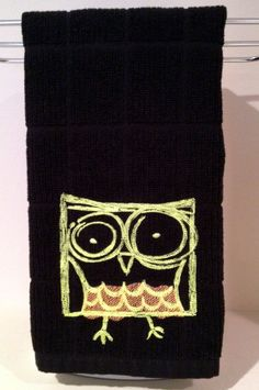 Night Owl kitchen towel