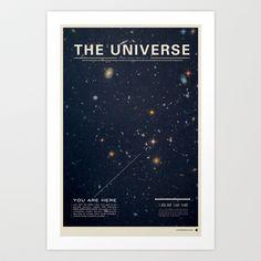 The Universe Art Print by Mike Gottschalk - $18.00