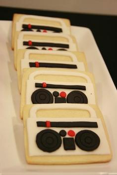 Boom Box Cookies!