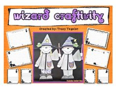 Wizard Craftivity and writing