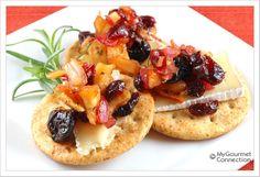 Apple ~ Cranberry Chutney