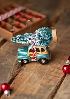 make a Car & Tree Ornament
