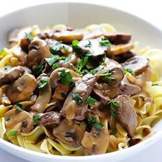 This 30-Minute Beef Stroganoff recipe takes us back to Sunday dinners with Grandma. Yum.