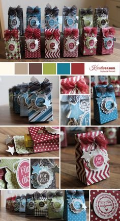 cute bags for gifting!  Stampin' Up!