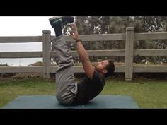 Windmill with Pulse Up Crunch Exercise - Advanced Core Workout #workout #exericse #core #abs