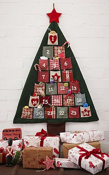 easy DIy christmas advent