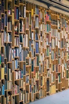 Bookcase by Dutch design firm EventArchitectuur.