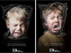 tough to look at...second hand smoke ad.