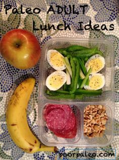 Paleo Lunchbox ideas for adults!