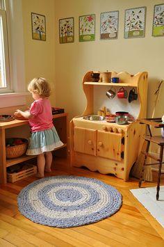 sweet little play kitchen