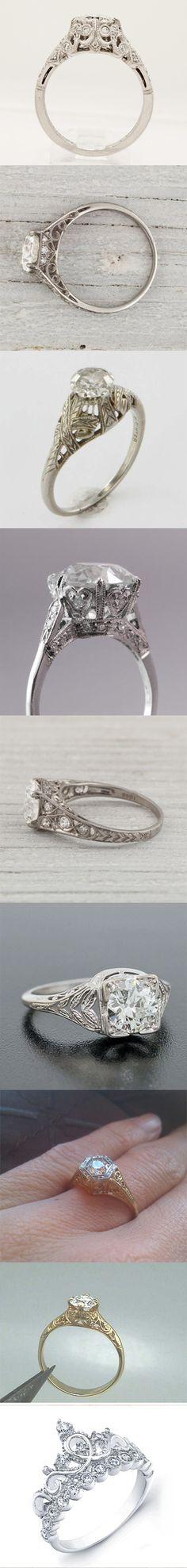 Beautiful!!!   Vintage rings,,,