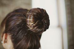 DIY: braided ballerina bun