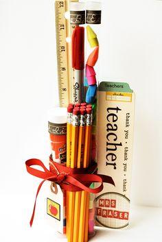 school supplies, beginning school, student teacher gifts, teacher appreciation gifts, teacher presents, appreci gift, magic wands, october afternoon, gift idea
