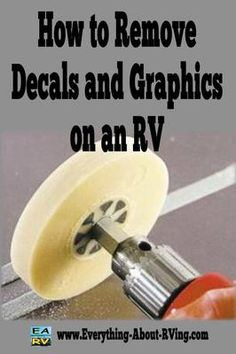 How to Remove Decals and Graphics on an RV: How hard is it to replace the decals on a 1997 35' Southwind? Where can you purchase new decals and about do they cost? ANSWER: Greetings Steve thanks