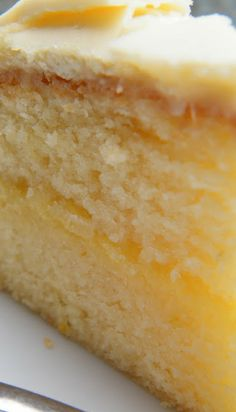 Lemon & White Chocolate Cake