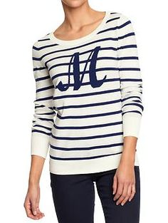 Women's Monogrammed Sweaters | Old Navy $22