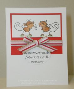 Never too Old! - Stamps by Stampendous and Stampin' Up - made in 2010