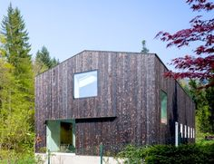 Stocker Dewes Architekten Converts a Horse Stable into a Beautiful Green-Roofed Home