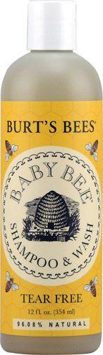 Baby Bee Tear-Free Shampoo and Wash