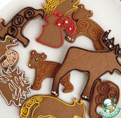 Новогоднее печенье в подарок рецепт