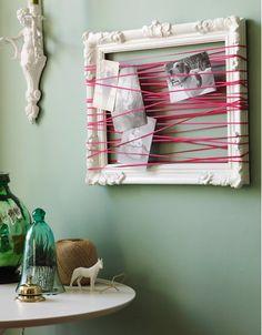 credit: Desire to Inspire via Design Indulgences [http://designindulgences.com/2011/03/08/tuesdays-tips-creative-ways-to-display-postcards-photos-cards/]