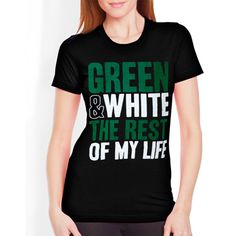 "Sorority Rush / Recruitment Shirts ""green and white"" Design.  $9.90 ea.  #sorority #rush #recruitment I LOVE THIS FOR PHILO!"