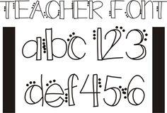 26 Free Fonts for Teachers - Teach Junkie