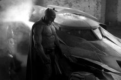 "Batman and Batmobile reveal for ""Batman vs Superman"""