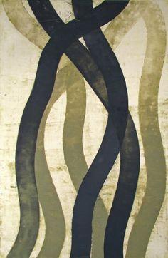 Regeneration #5, oil on paper, Doug Glovaski 2010