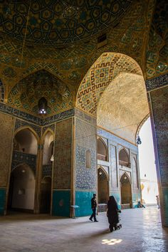 James Mosque, Yazd,