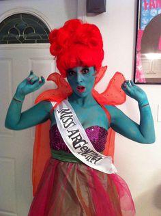 beetlejuice costume, halloween costume ideas, halloween costumes, rock, beetlejuic costum, miss argentina costume