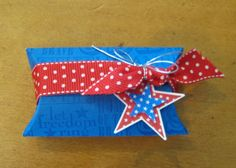 Patriotic Treat patriot treat, pillow box